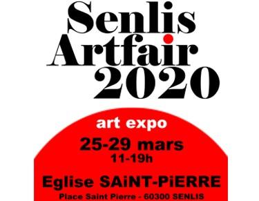 Senlis Artfair 2020 - Dominique Rivaux