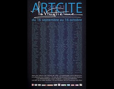 Affiche de l'exposition Artcité 2021