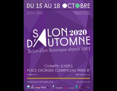 Affiche de l'exposition Salon d'Automne 2020