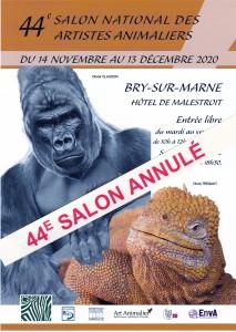 44e SNAA SALON NATIONAL DES ARTISTES ANIMALIERS 2020