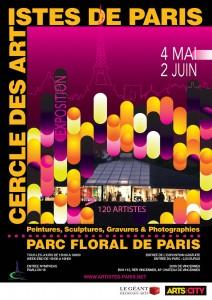 Exposition Cercle des Artistes de Paris 2021