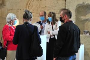 Exposition Artfair 2021 dans l'église Saint-Pierre à Senlis