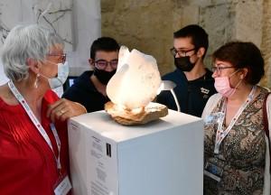 Exposiition Artfair à Senlis - sculpture DE BON MATIN