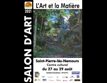Salon d'art - L'art et la Matière - Saint-Pierre-lès-Nemours