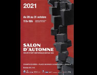 Salon d'Automne 2021 - Paris Dominique Rivaux